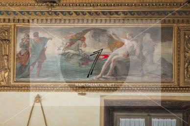 'Perseo e Andromeda' - Artista: Giacinto Brandi (c. 1646-1648) - Affresco