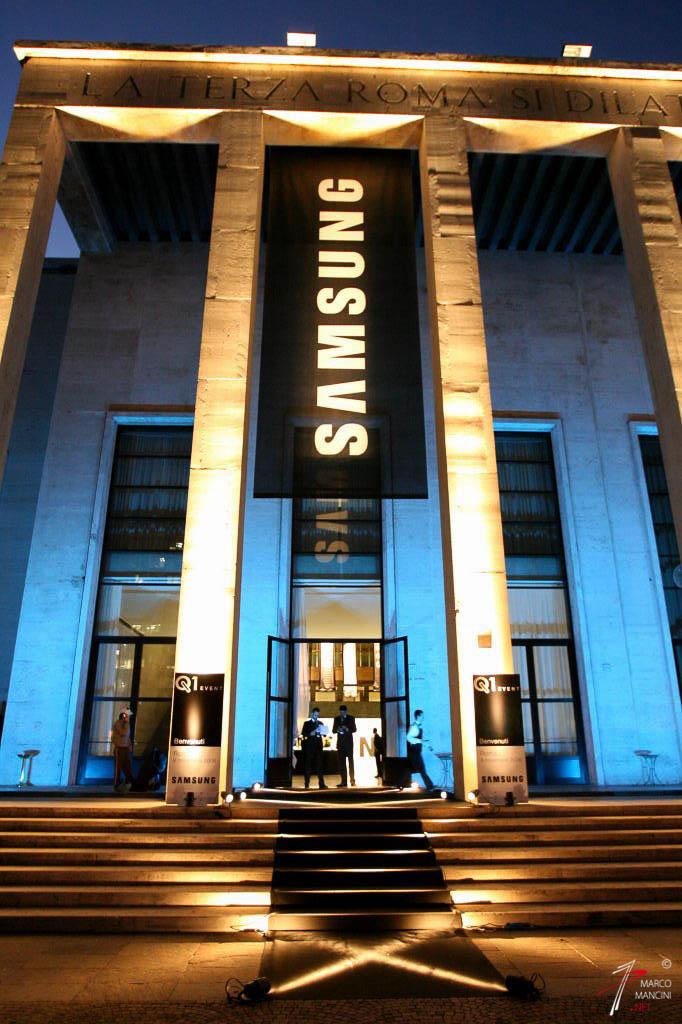 Event SAMSUNG - Roma, Palazzo delle Fontane, 9 Novembre 2006