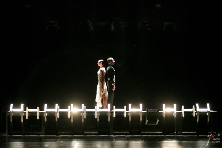 """Compagnia ATERBALLETTO: """"Les Noces"""" - cor. Mauro Bigonzetti Roma - Teatro Olimpico 18-21 Gennaio 2006"""