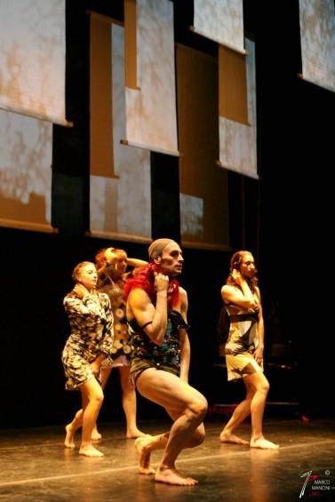 """ATON D.V.D. """"Fiori Malati"""" Ideazione e Regia: Dino Verga - coreografie: D. Verga - L. Russo. Roma Teatro Belli 16-18 Giugno 2007"""