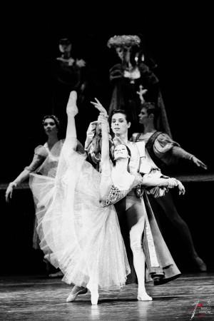 ROMEO E GIULIETTA Teatro Balletto del Cremlino ROMA Teatro dell'Opera - 12/03/01 In foto: Natalja Balakhnicheva foto: Marco Mancini