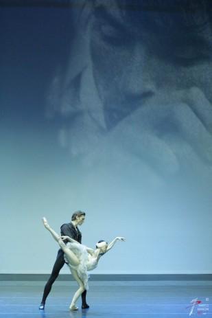 Lucia Lacarra, Marlon Dino (Bayerisches Staatsballett di Monaco di Baviera))- 'Il Lago dei Cigni' - Cor. Nureyev